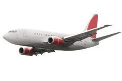 samolot odizolowywający samolot Zdjęcie Stock