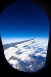 samolot okno Obrazy Royalty Free