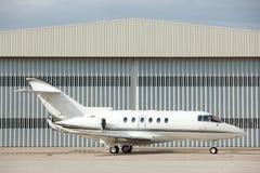 samolot parkujący Fotografia Stock