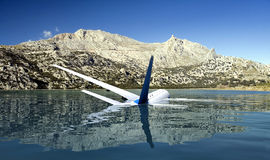 Samolot pasażerski Zdjęcia Royalty Free