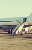 Samolot pasażerski Obraz Stock
