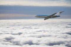Samolot pasażerski Zdjęcie Stock