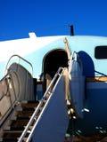 samolot po schodach Obrazy Royalty Free