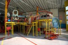Samolot produkcja zdjęcie royalty free