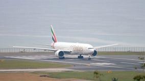 Samolot przyśpiesza przed odjazdem zdjęcie wideo