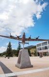 Samolot rzeźba przy Stany Zjednoczone siły powietrzne akademią w Colorad Obraz Stock