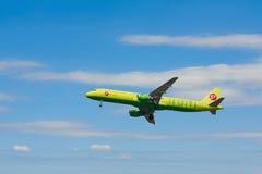 Samolot S7 Airlines Obraz Royalty Free