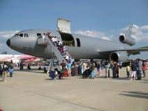 samolot sił ładunków lotniczych Obrazy Royalty Free