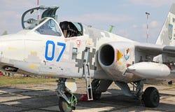 Samolot Su-25 Zdjęcie Stock