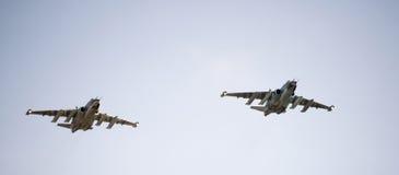 Samolot Su-25 Obraz Stock