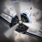 Samolot szturmowy. obraz stock