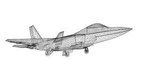 Samolot Szturmowy Zdjęcie Stock