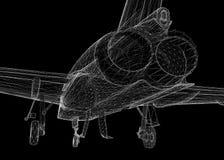 Samolot Szturmowy Fotografia Stock