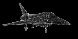 Samolot Szturmowy Obrazy Stock