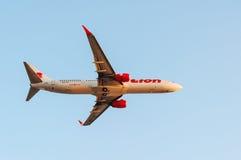Samolot tajlandzka linia lotnicza Obraz Stock
