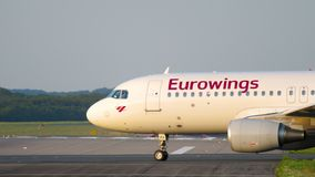 Samolot taxiing początek zbiory wideo