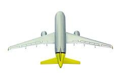 samolot w górę widok ilustracji