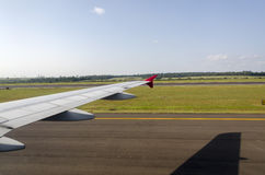 Samolot w Iguacu Zdjęcia Stock