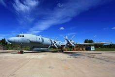 Samolot w parking Obrazy Stock