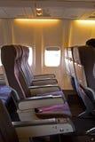 samolot wnętrze zdjęcia stock