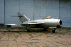 Samolot wojskowy Fotografia Stock