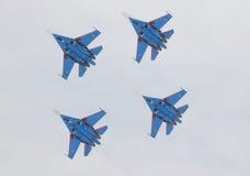 Samolot wojskowy Su-27 Obraz Stock