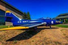 Samolot wystawa zdjęcie royalty free