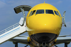 Samolot z rampą obrazy stock
