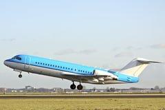 samolot z zabranie Zdjęcie Royalty Free