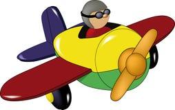 samolot zabawka Zdjęcia Stock