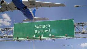 Samolot Zdejmuje Batumi zbiory wideo