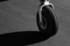 Samolotowa desantowa przekładnia Zdjęcie Stock