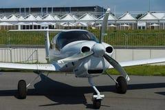 Samolotowa diamentu DA40 tundry gwiazda Obrazy Royalty Free