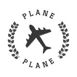 Samolotowa ikona Fotografia Stock