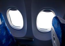 Samolotowa kabina obraz stock