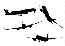 Samolotowa kolekcja ilustracji