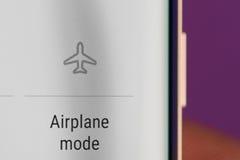 Samolotowa tryb ikona Fotografia Stock