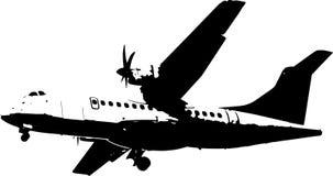 Samolotowa wektorowa ilustracja royalty ilustracja