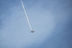 Samolotowe akrobacje Fotografia Stock