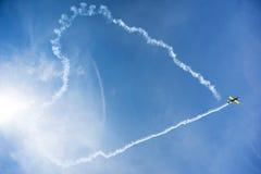 Samolotowi akrobata Fotografia Royalty Free