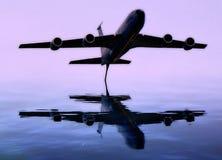 Samolotowi odbicia Obraz Stock