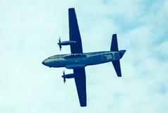 Samolotowy C-27 spartanin przy airshow Obraz Royalty Free