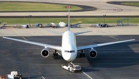 Samolotowy ciągnik Fotografia Stock