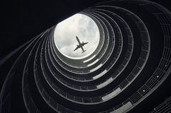 samolotowy desantowy pasażer obrazy royalty free