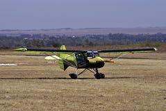 samolotowy gepard parkuję ultralight Zdjęcia Royalty Free
