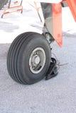 Samolotowy koło Obraz Stock