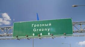 Samolotowy lądowanie Grozny