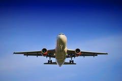 samolotowy lądowanie Fotografia Stock
