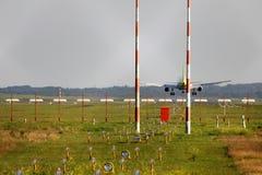 samolotowy lądowanie Zdjęcie Stock