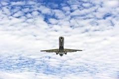 samolotowy lądowanie Obraz Royalty Free